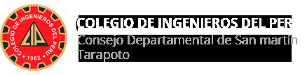 CIP Consejo Departamental de San Martín Tarapoto